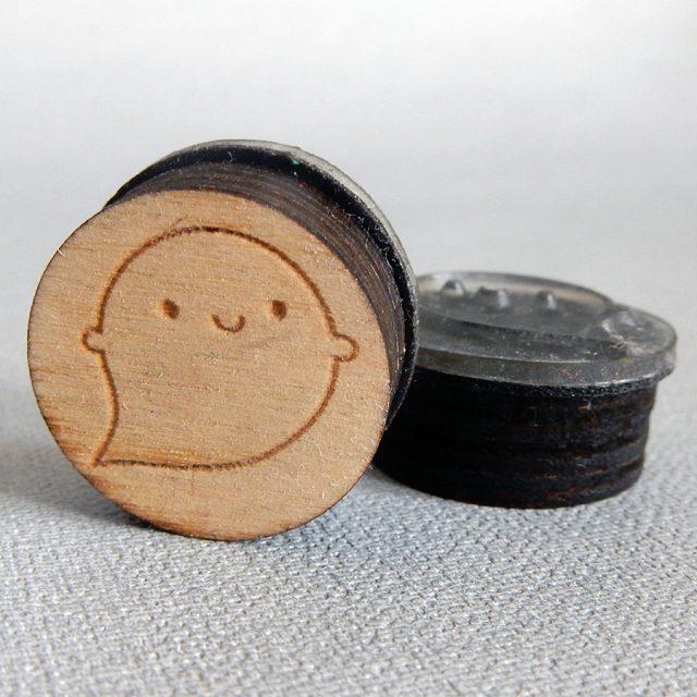 ghost polymer stamp