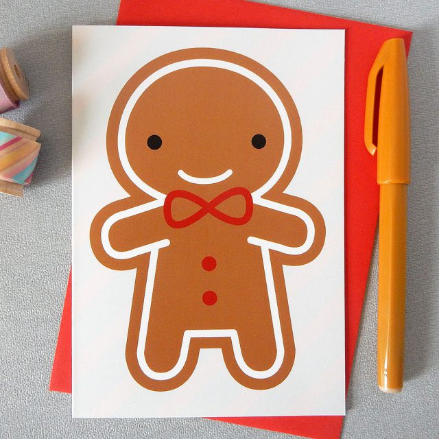 cookie cute christmas card