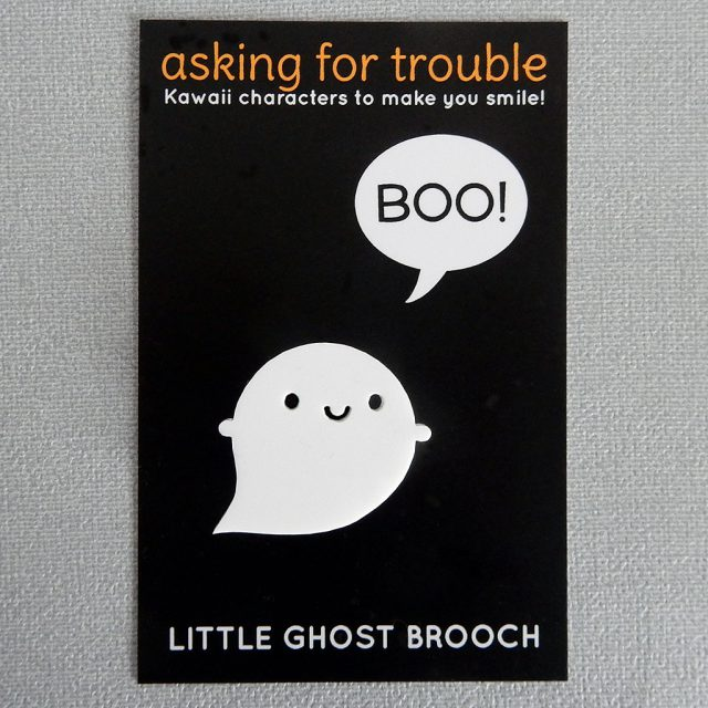 ghost brooch