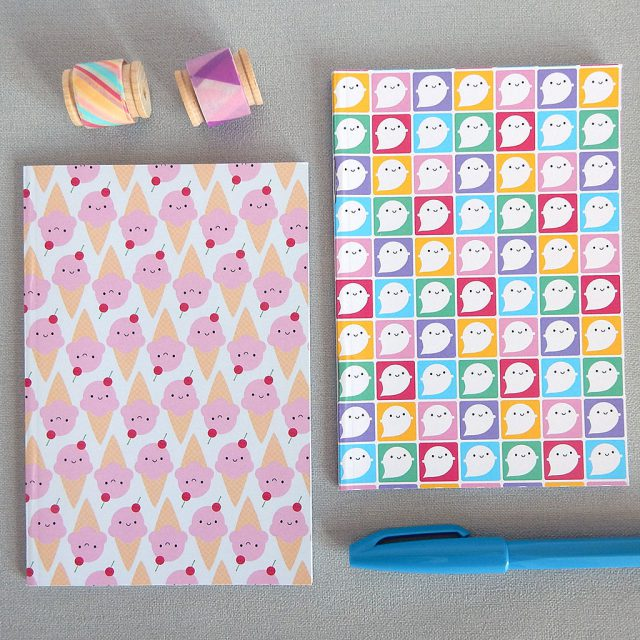 kawaii pocket notebooks