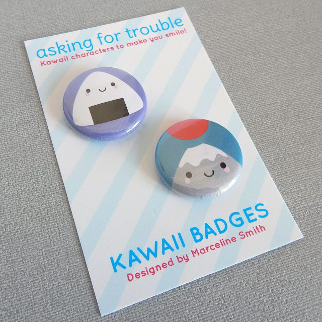 kawaii japan badge set - askingfortrouble