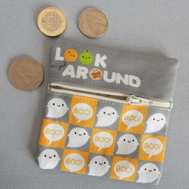 look around fabric coin purses