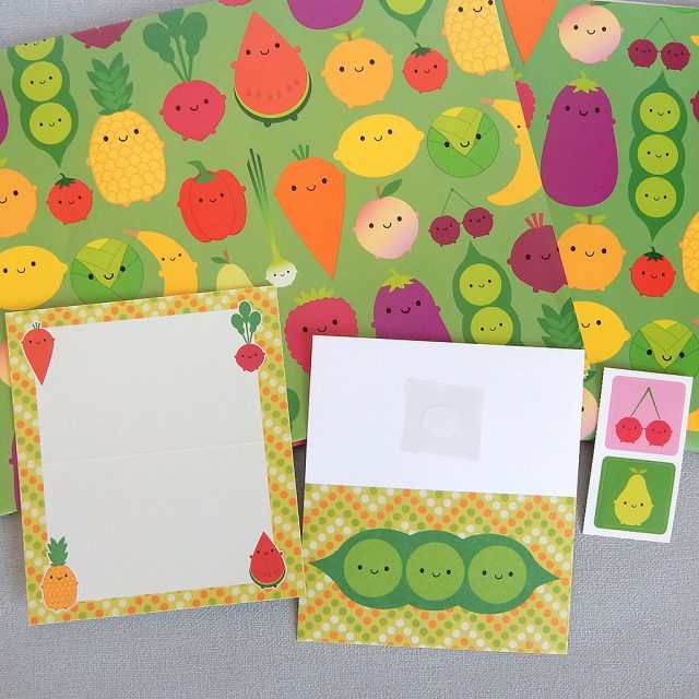 5 a day gift wrap set