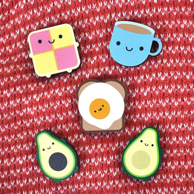 Mini Wooden Pins