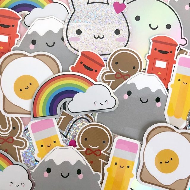 Assorted Kawaii Vinyl Stickers