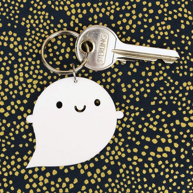 Little Ghost Acrylic Keyring