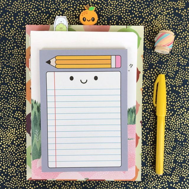 Happy Stationery Notepad