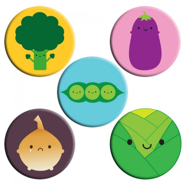 5 A Day Badge Sets