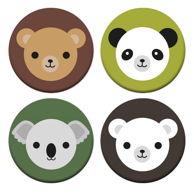 bears badges